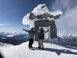 カナダでスキー♪