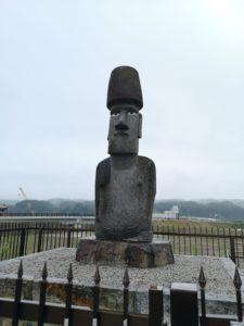 イースター島からのモアイ像