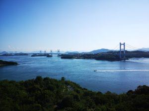 鷲羽山第二展望台からの瀬戸大橋