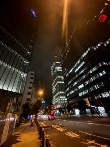 大阪本町の夜景