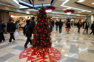 一番街のクリスマスツリー