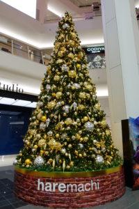岡山イオンのクリスマスツリー