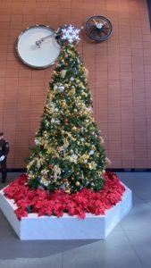 ステーションコンファレンス万世橋のクリスマスツリー