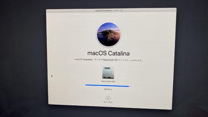 iMac2020のOS再インストール