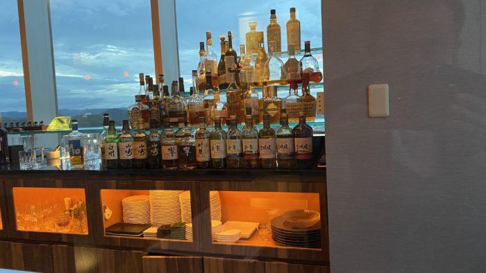 ANAクラウンプラザホテル岡山 夜景の見えるラウンジ