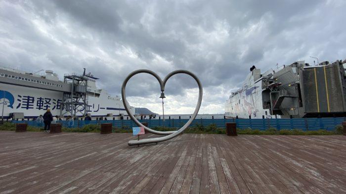 津軽海峡フェリーのハート