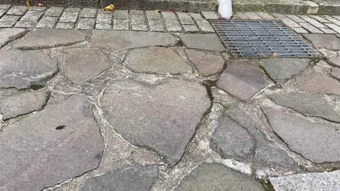 函館・元町のハート